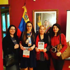 """Predstavljanje monografije dr Sonje Hornjak Pajić """"Film u nastavi španskog jezika"""" u Ambasadi Venecuele u Srbiji"""